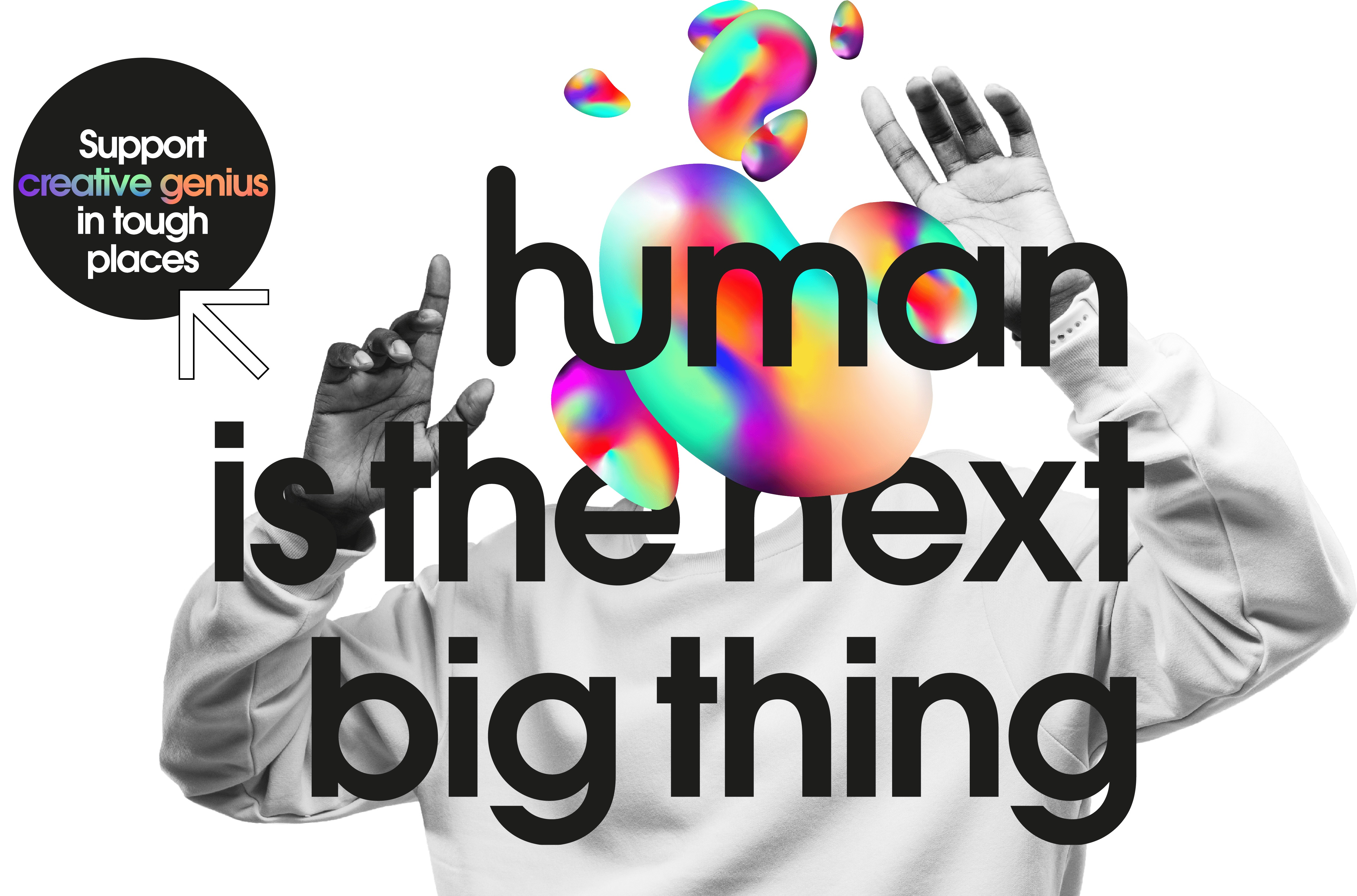 human is the next big thing