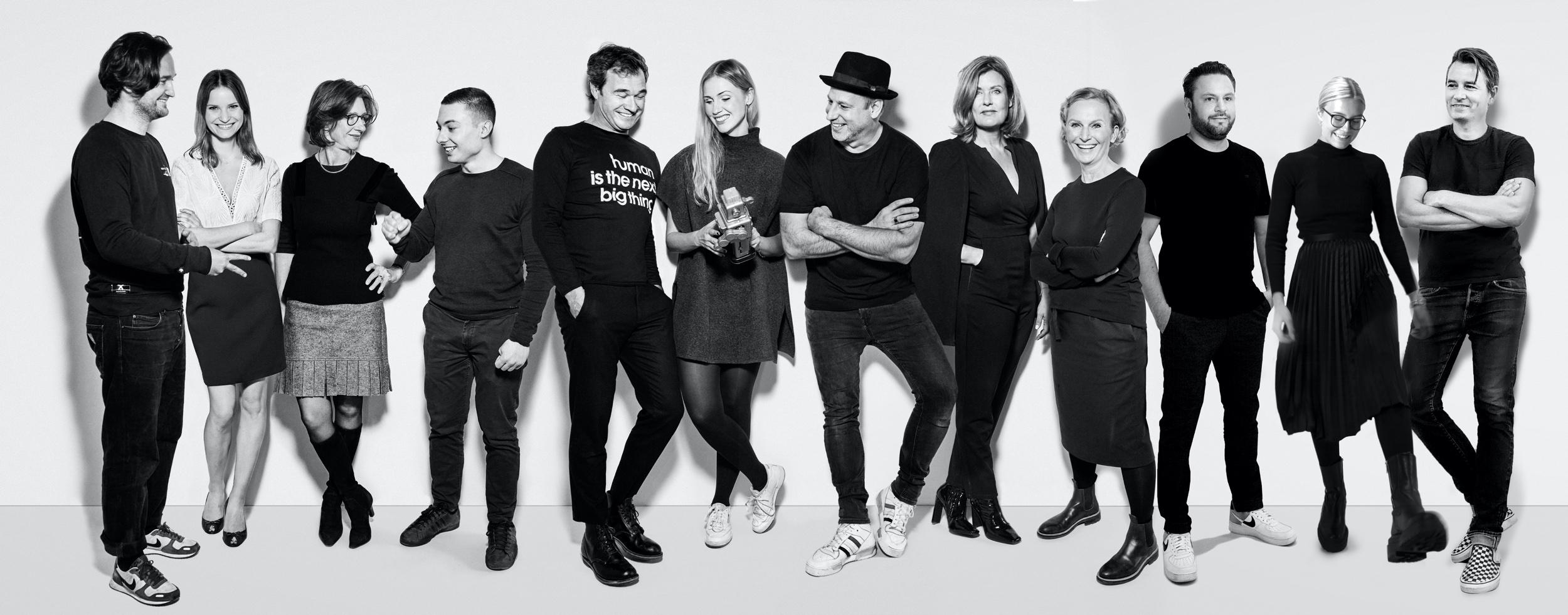 Mitarbeiter von human unlimited im Oktober - Teamfoto